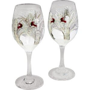 Let's Toast Wine Glass (Set of 2)