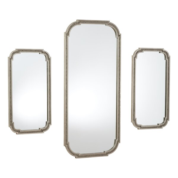 Forged Pearl Accent Mirror by Global Views