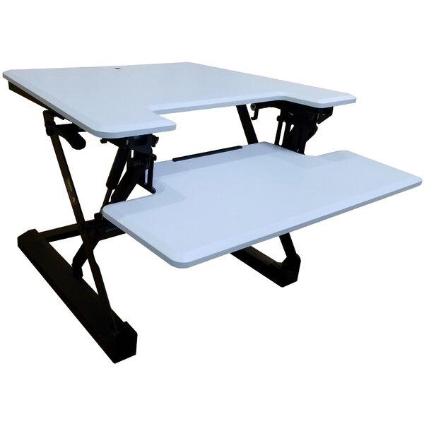 Leclerc Height Adjustable Standing Desk Converter