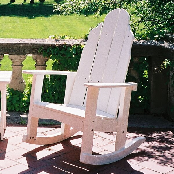 Traditional Plastic Rocking Adirondack Chair by Tailwind Furniture