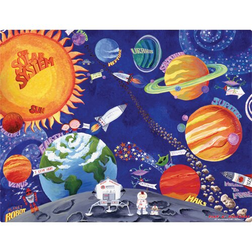 Solar System Play Placemat by Magic Slice