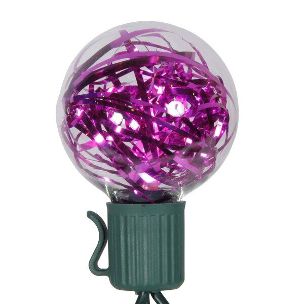 25 Tinsel Christmas Light by Vickerman