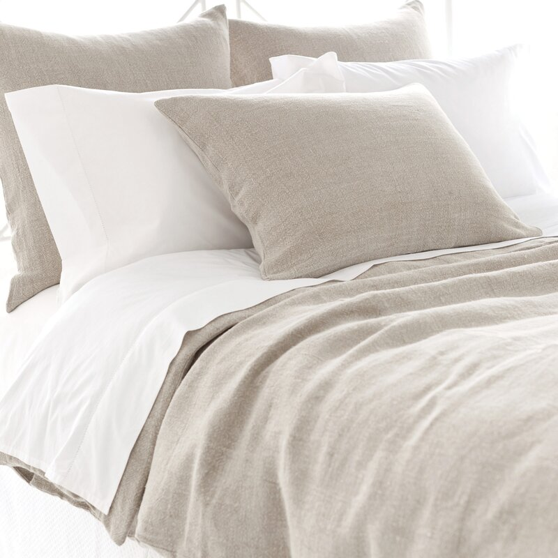 Pine Cone Hill Stone Washed Linen Duvet Cover Collection