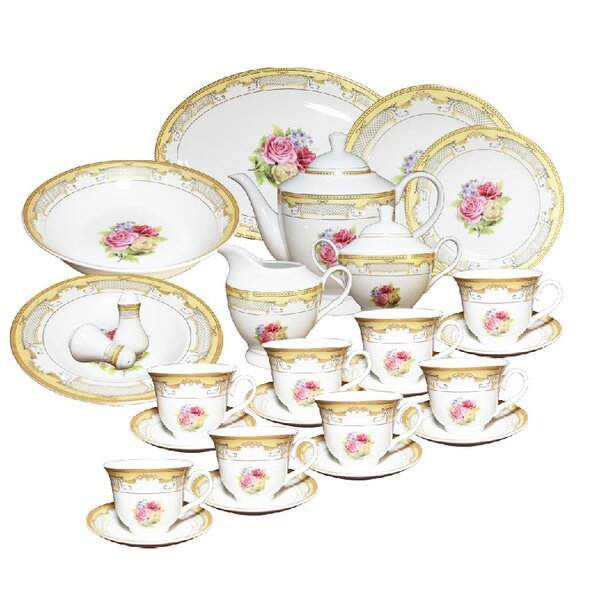 49 Piece Dinnerware Set, Service for 8 by Imperial Gift Co.