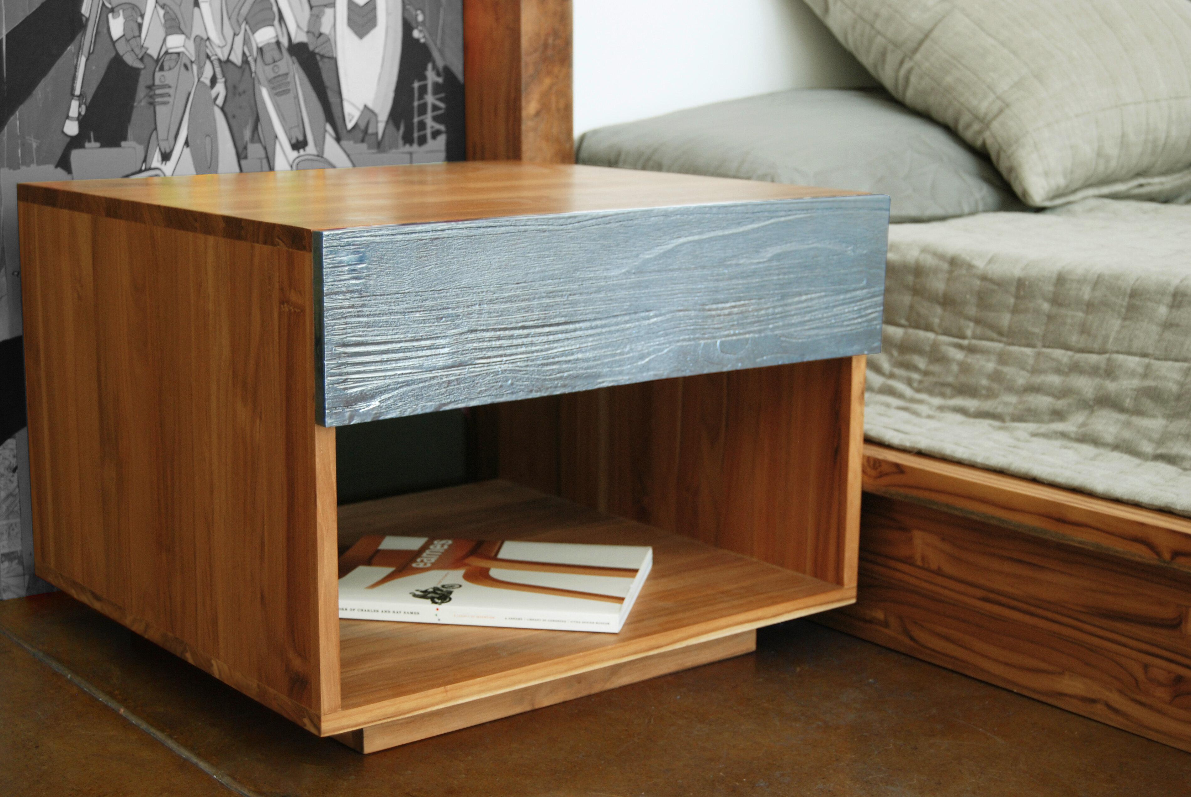 Lax Series Platform Bed lax series 1 drawer nightstand