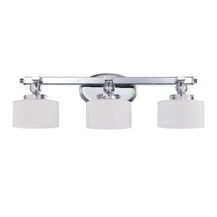 Comparison Rozella 3-Light Vanity Light By Willa Arlo Interiors