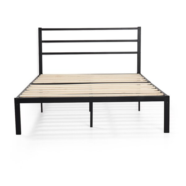 Hertwig Metal Platform Bed by Winston Porter