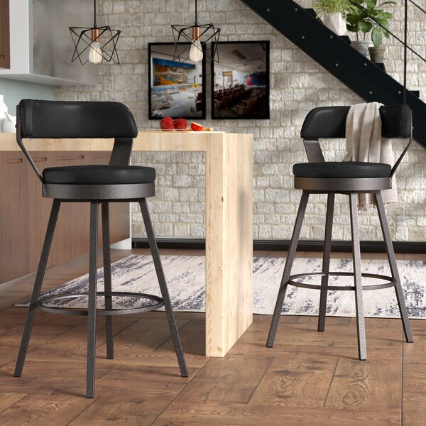 Berrin 30.3 Swivel Bar Stool (Set of 2) by Trent Austin Design