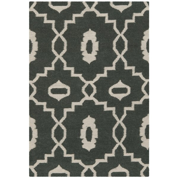 Dhurries Green/Ivory Area Rug by Safavieh