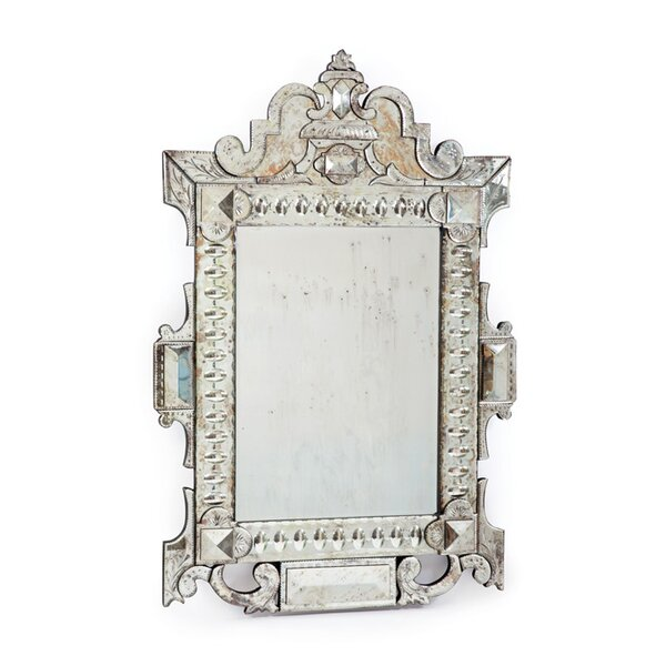 Hand Etched Accent Mirror by One Allium Way