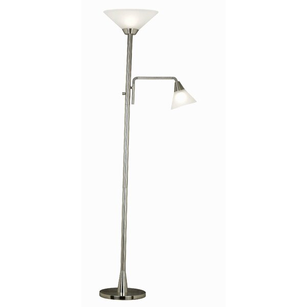 Theodore 72 Torchiere Floor Lamp by Andover Mills
