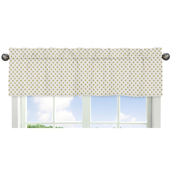 Amelia Polka Dot 54 Window Valance by Sweet Jojo Designs