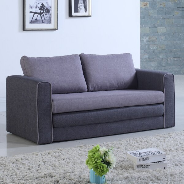 Hertfordshire Sleeper Loveseat by Ebern Designs
