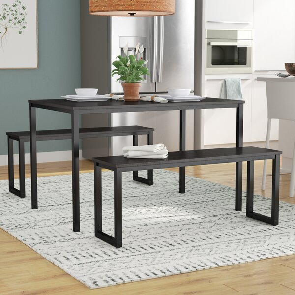 Rudder 3 Piece Dining Set by Wrought Studio