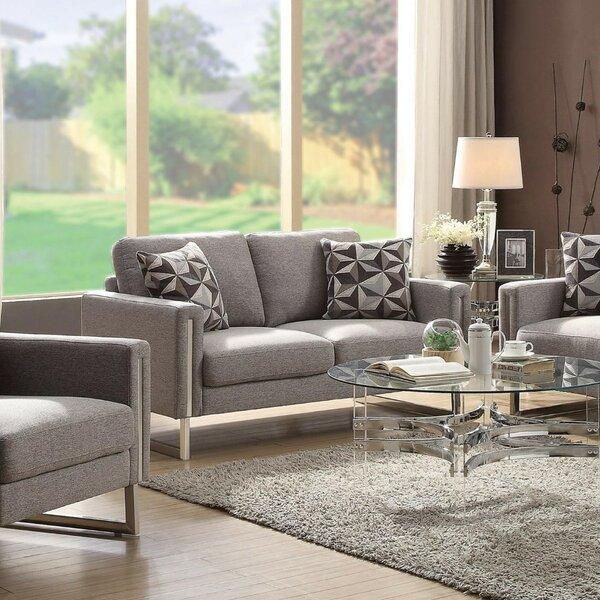 Roselyn U- Shaped Steel Legs Configurable Living Room Set by Brayden Studio Brayden Studio
