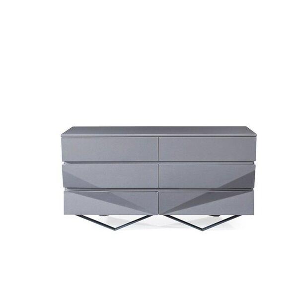 Killam 6 Drawer Double Dresser by Orren Ellis