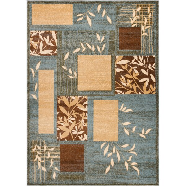 Abbie Formal Light Blue Area Rug by Winston Porter