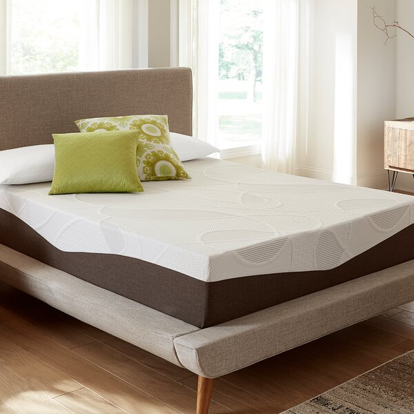 12 Inch Firm Gel Memory Foam Mattress By Alwyn Home by Alwyn Home Modern