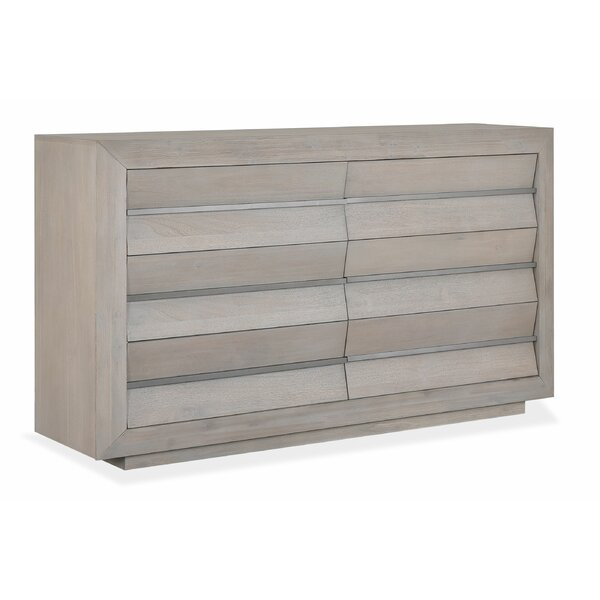 Lucette 6 Drawer Double Dresser by Latitude Run