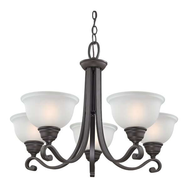 Halvorsen 5-Light Shaded Classic / Traditional Chandelier By Darby Home Co