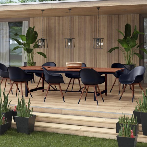 Colyer 9 Piece Dining Set by Mercury Row