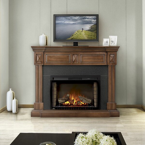 Braxton 50 TV Stand with Electric Fireplace by Napoleon