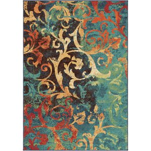 Rorry Blue/Brown Area Rug