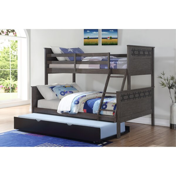 Colvard Barn Twin over Full Bunk Bed with Trundle by Harriet Bee