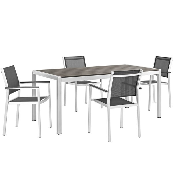 Coline 5 Piece Dining Set by Orren Ellis