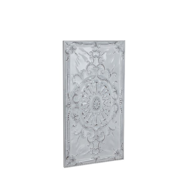 Traditional Metal Sunflower and Scrollwork Wall Decor by Ophelia & Co.