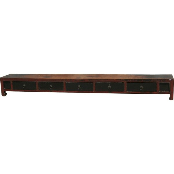 Agosto 76 Solid Wood Console Table