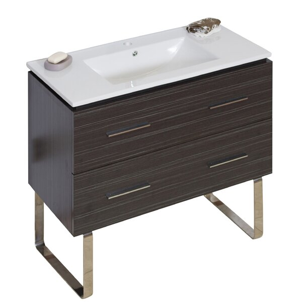 36 Single Modern Bathroom Vanity Set by American Imaginations36 Single Modern Bathroom Vanity Set by American Imaginations