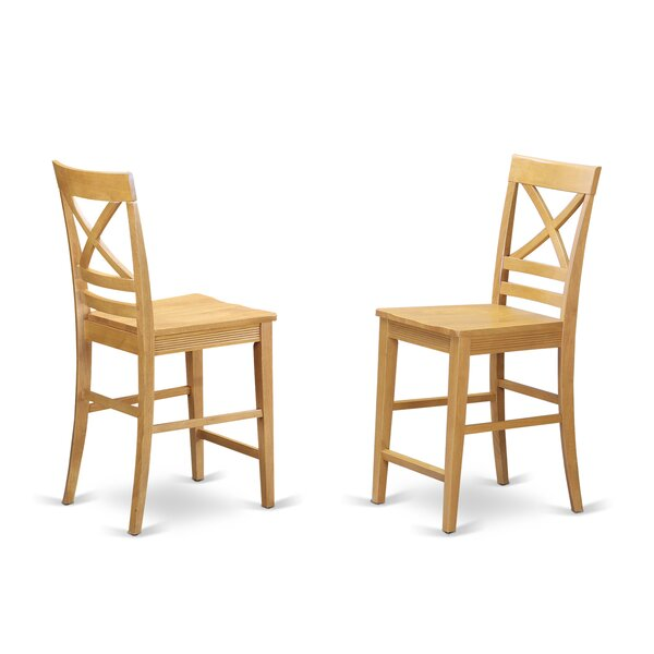 Pilger Bar Stool (Set of 2) by August Grove
