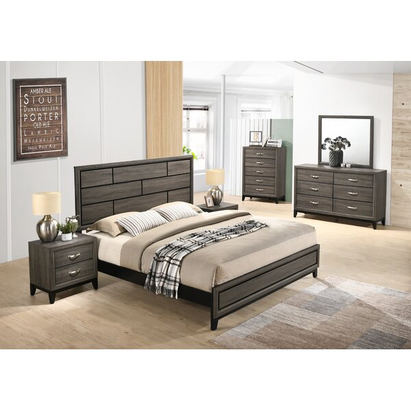 Macy Panel 5 Piece Bedroom Set by Wrought Studio