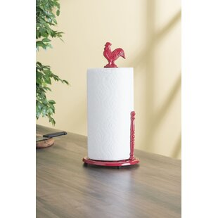 Rooster Free-Standing Paper Towel Holder by Home Basics
