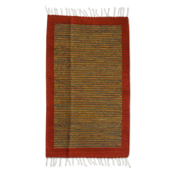 Weare Hand Woven Area Rug by Millwood Pines