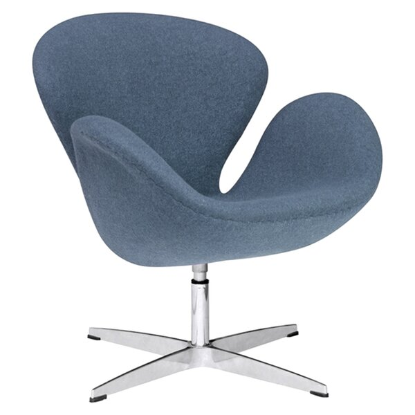 Swineford Swivel Armchair by Orren Ellis