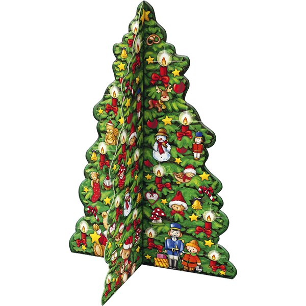 Korsch 3-D Christmas Tree Advent Calendar by Alexander Taron