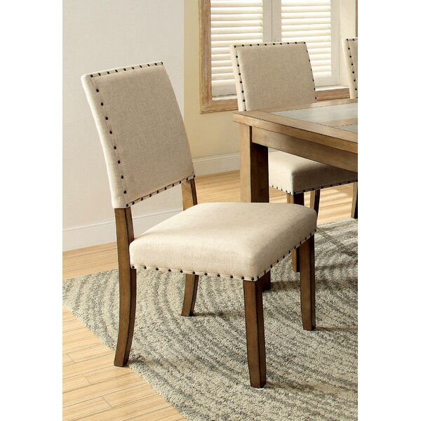Crafton Upholstered Dining Chair (Set of 2) by Alcott Hill