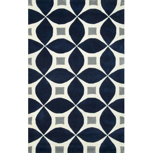 Shopping for Jamar Handmade Navy Blue/Gray Area Rug By Langley Street