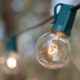 Deals 25-Light Globe String Lights By Wintergreen Lighting