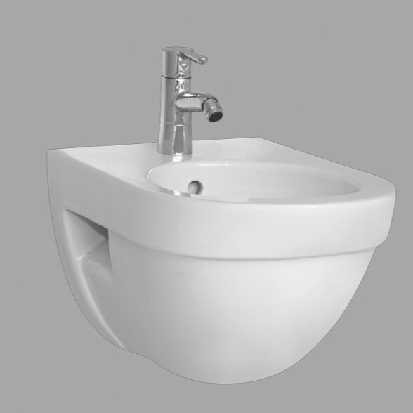 Form500 15.75 Wall Mount Bidet by VitrA by Nameeks