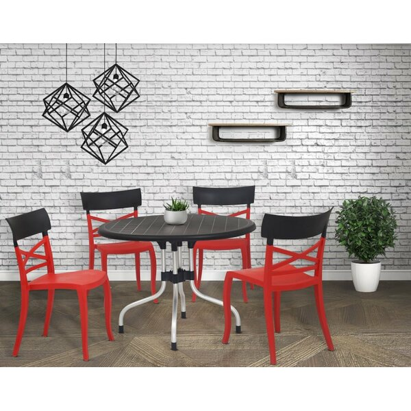 5 Piece Dining Set by Ebern Designs