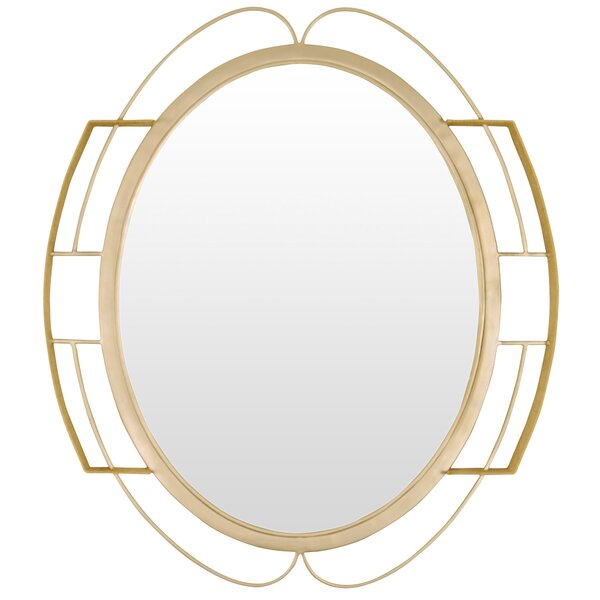 Tinali Oval Wall Mirror by Varaluz