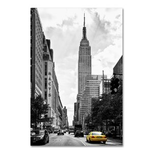 Living in New York Photographic Print on Wrapped Canvas by Latitude Run