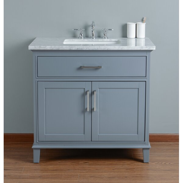 Caudill 36 Single Bathroom Vanity Set by Highland
