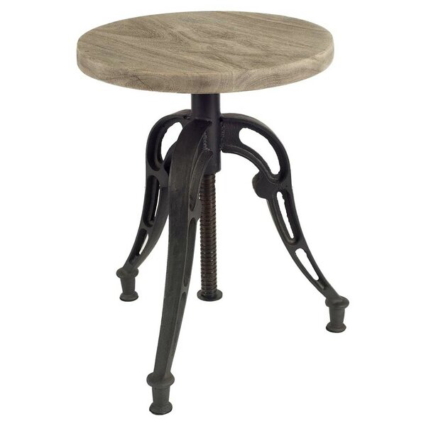 Wenham Accent Stool by 17 Stories