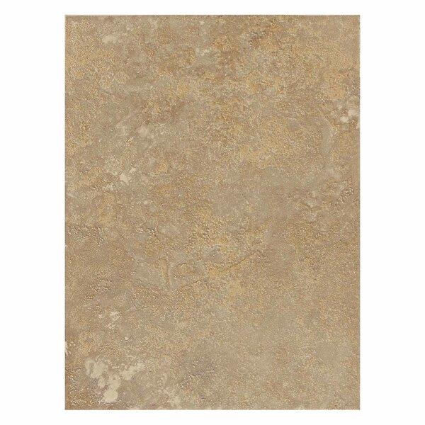 Huston 9 x 12 Ceramic Field Tile in Raffia Noce by Itona Tile