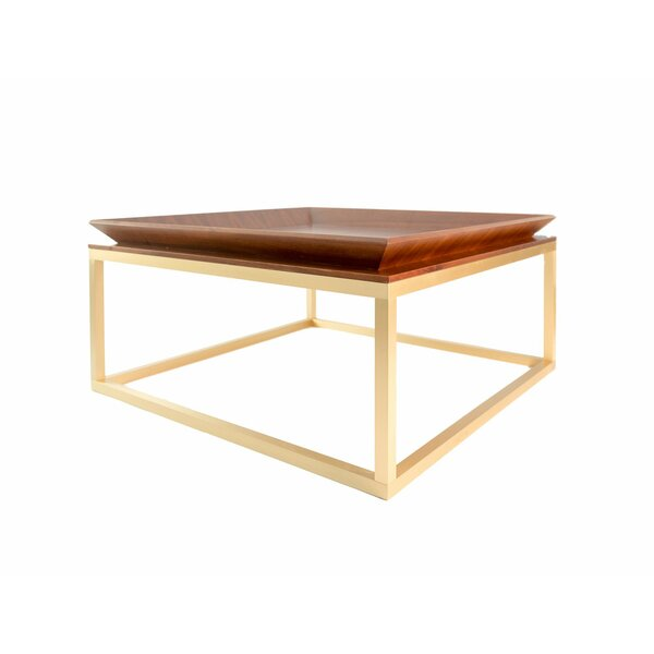 Le Tray Straight Leg Coffee Table with Tray Top