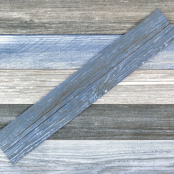 Grove 4 x 24 Porcelain Wood Look Tile in Sky by Splashback Tile